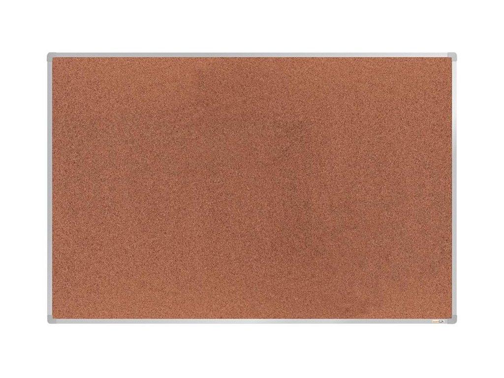 BoardOK, korková nástenka 180x120 cm, strieborný rám