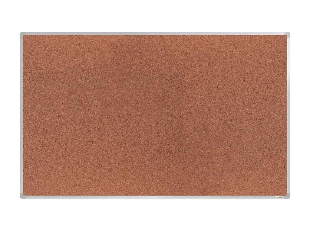 BoardOK, korková nástenka 200x120 cm, strieborný rám