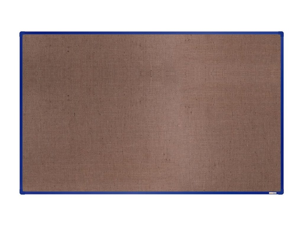 BoardOK, nástenka s textilným povrchom, 200x120 cm, modrý rám