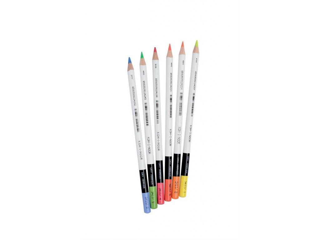 Koh-i-noor, zvýrazňovacie ceruzka 3411 cena za 12 ks (Varianta modrá)