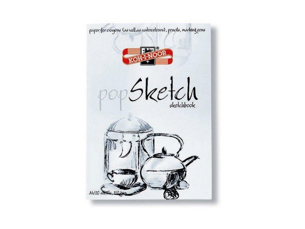 Koh-i-noor, skicár POP SKETCH, 20 listov 110g / m2 (Formát A3)