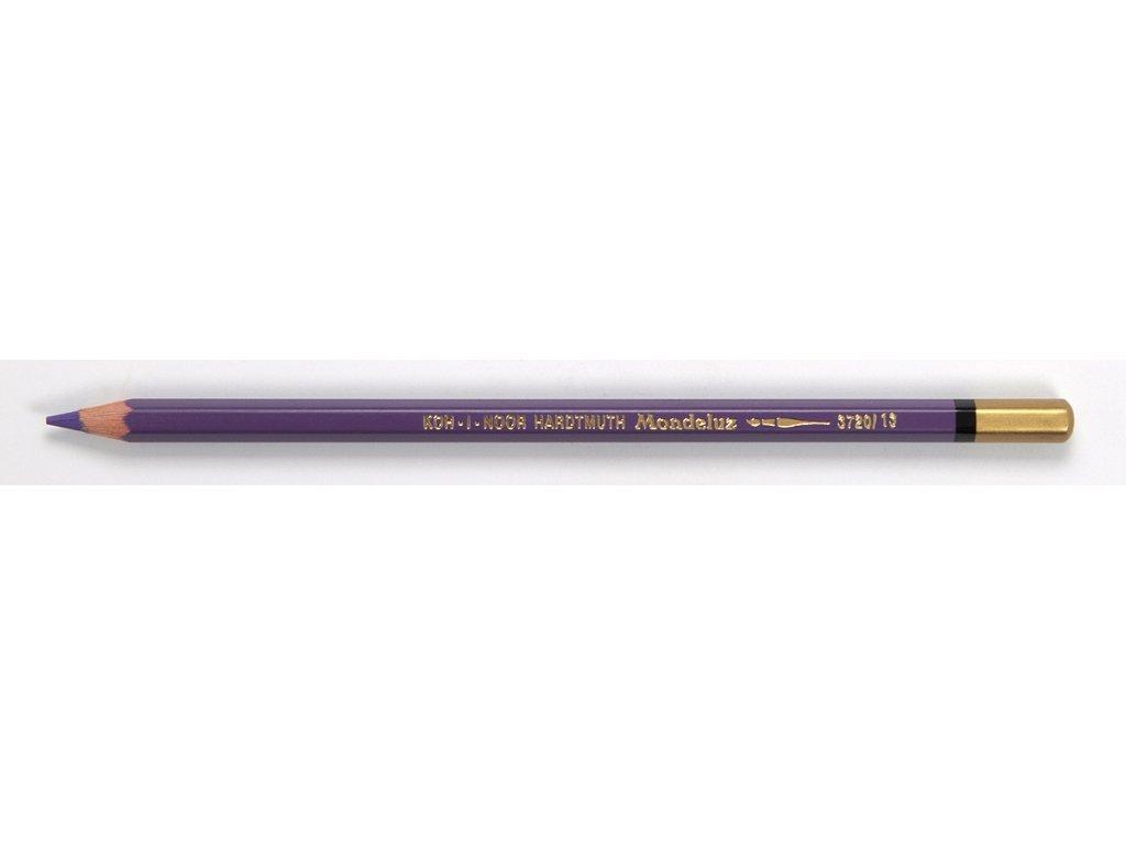 Koh-i-noor, pastelové ceruzky 3720 MONDELUZ, 12 ks od jednej farby (Varianta oranž broskvová)