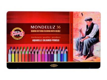 103713 koh i noor mondeluz umelecke akvarelove pastelove ceruzky 3725 36 ks v sade