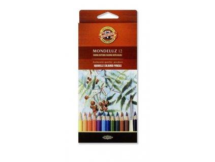 103725 koh i noor mondeluz akvarelove pastelove ceruzky 3716 12 ks v sade