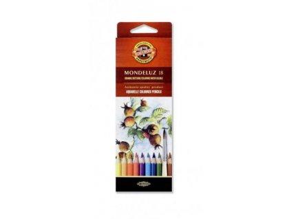 103728 koh i noor mondeluz umelecke akvarelove pastelove ceruzky 3717 18 ks v sade