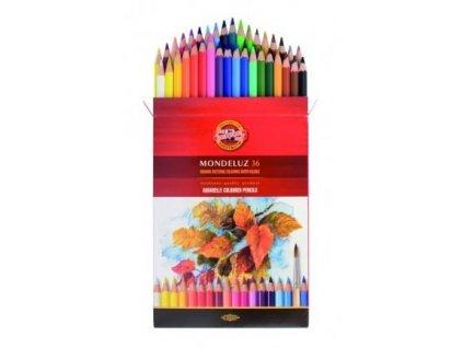 103734 koh i noor mondeluz umelecke akvarelove pastelove ceruzky 3719 36 ks v sade