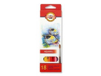 103743 koh i noor mondeluz skolske akvarelove pastelove ceruzky 3717 18 ks v sade