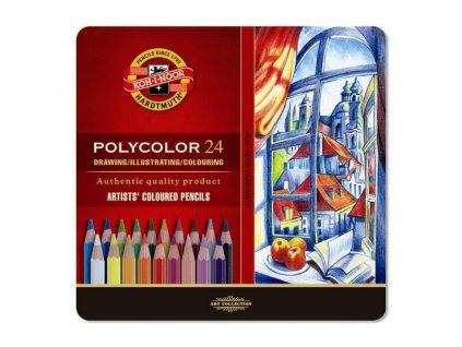 103797 koh i noor umelecke pastelove ceruzky polycolor 3824 24 ks