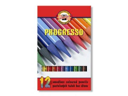 103821 koh i nnor pastelova ceruzka progress 8756 12 ks sada