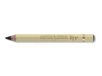 103857 koh i noor konturovacia ceruzka 3221 cierna cena za 12 ks