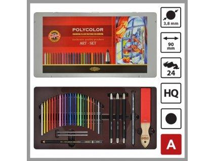 103959 koh i noor kresliarske kazeta polycolor 3896