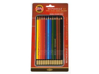 104544 koh i noor mondeluz umelecke akvarelove pastelove ceruzky 3722 12 ks v sade