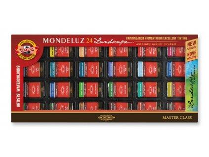 104676 koh i noor mondeluz suprava umeleckych akvarelovych farieb 24 farieb krajina