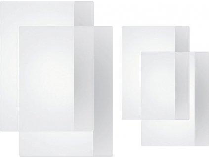 obal na zošit A6 silný, priehľadný PVC