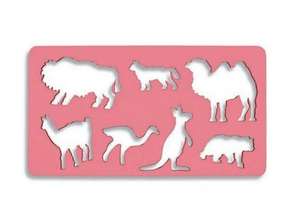 105861 koh i noor sablona exoticka zvieratka