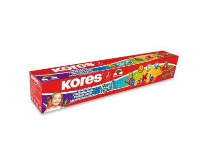KORES, prstové farby dedí KOLOR 6 + 1