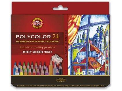 106008 koh i noor 3834 polycolor 24 ks v sade