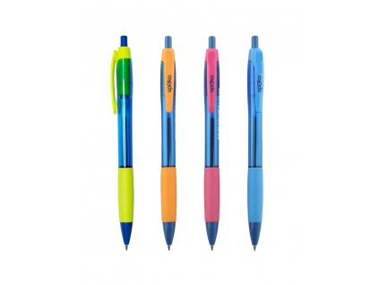 12 x Spoko, Aqua guľôčkové pero, modrá náplň