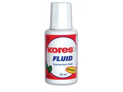 Kores, opravný lak, Fluid 20 ml.