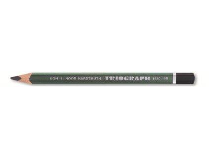 Koh-i-noor, grafitová ceruzka 1831 TRIOGRAPH silná trojhranná, 6 ks (Varianta 6B)