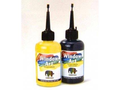 Nerchau WINDOW ART, zlupovacie farba na sklo, 42 odtieňov na výber