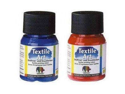 Nerchau Textile Art, farba na tmavý textil, 59 ml., 18 odtieňov na výber