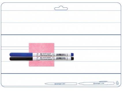 Centropen 7719, obojstranne stierateľná tabuľka A4, doporučené pre 1.triedy