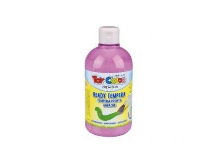 TOY COLOR, tempera 500 ml., 8 pastelových odtieňov, supervypratelné