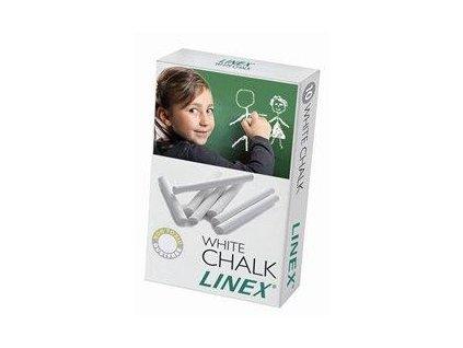 Linex, školské biela krieda 10 ks