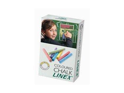Linex, školské farebná krieda 10 ks