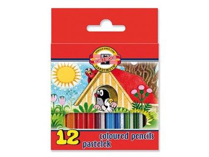 107769 koh i noor kratke pastelove ceruzky 3622 12 ks v sade krtko