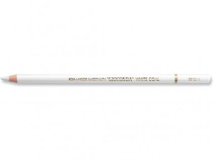 Koh-i-noor, umelý biely uhoľ GIOCONDA 8812 v ceruzke, 12 ks (Varianta soft)