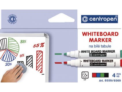 Centropen 8559, sada popisovačov stierateľných