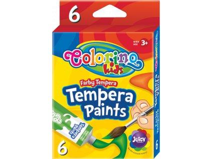 Colorino temperové farby, 6 farieb, 12 ml.