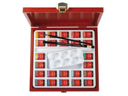 108213 koh i noor mondeluz suprava umeleckych akvarelovych farieb v darcekovej krabicke
