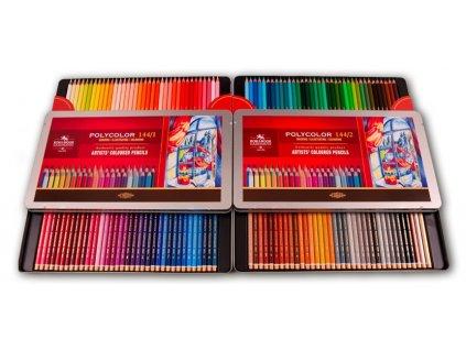 108243 koh i noor suprava pasteliek umeleckych polycolor 144 ks