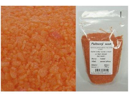 Kryštalický vosk oranžový s vôňou pomaranč