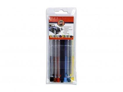 Koh-i-noor, súprava mechanických pastelových ceruziek Scala 4011