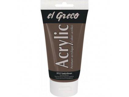 Akrylová farba EL GRECO 150 ml