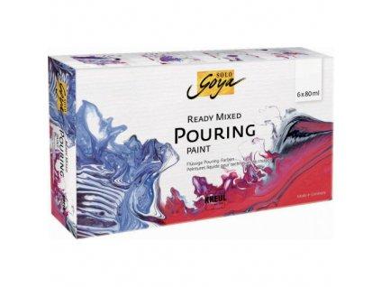 Sada Pouring fluid SOLO GOYA 6 farieb