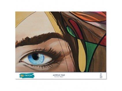 SOLO GOYA TRITON ACRYLIC PAD 56 x 42 cm 10 listov