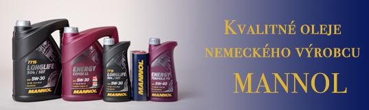 Kvalitné výrobky nemeckého výrobcu Mannol