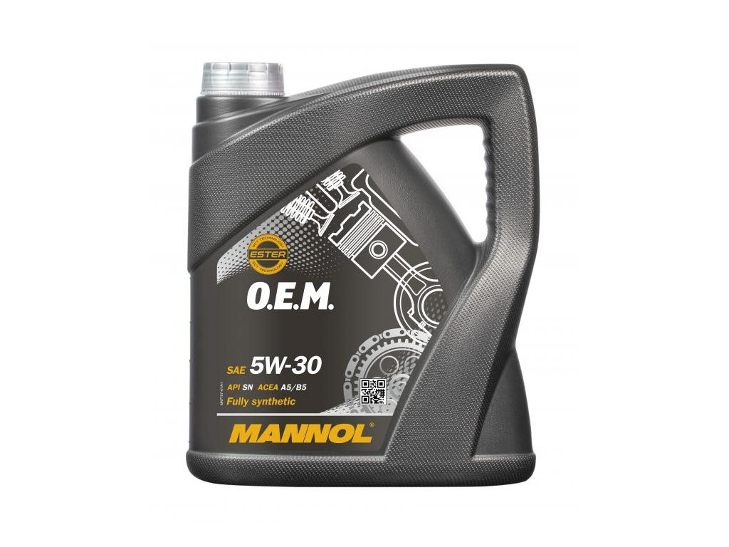 Mannol 7707 O.E.M. for Ford Volvo 5W-30