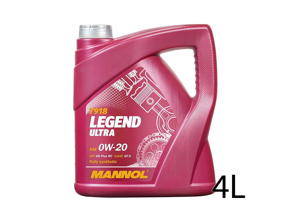 Mannol Legend Ultra 4L