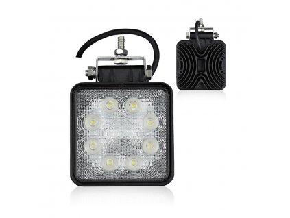 LED pracovné svetlo hranaté E8