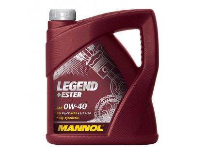 Mannol Legend + Ester 0W40