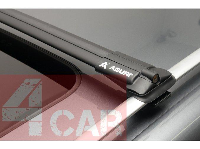 Střešní nosič, příčníky AGURI PRESTIGE PS38 BLACK VW SHARAN II 2015-