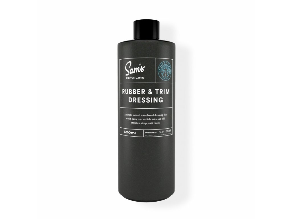 Rubber and Trim Dressing 1