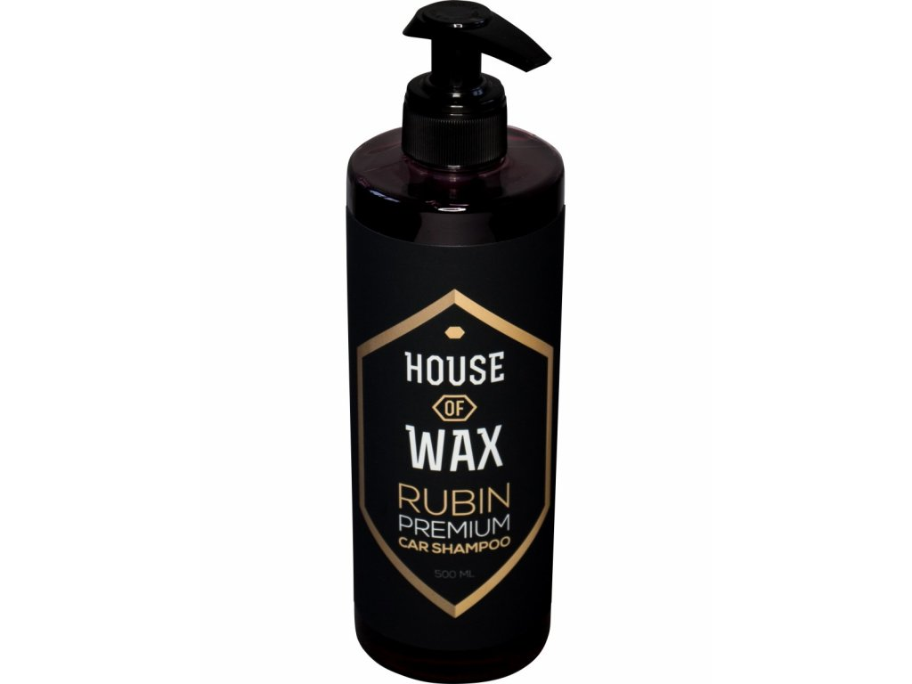 house of wax rubin car shampoo 500ml