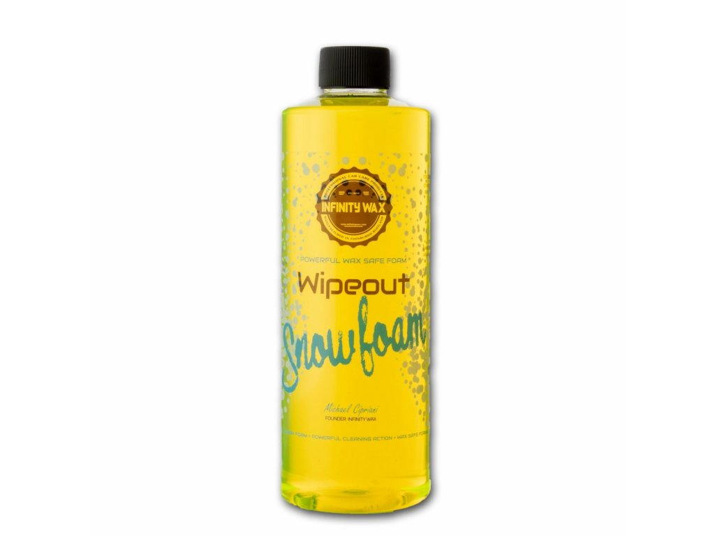 Infinity Wax Wipeout Snowfoam (500 ml) aktivní pěna